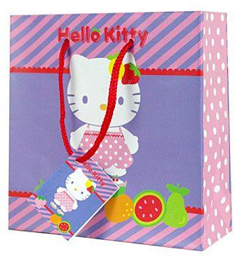 Dárková taštička na CD/DVD Hello Kitty fruity