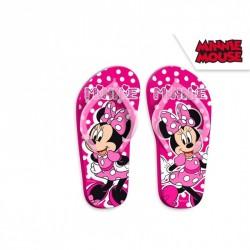 Letní dívčí žabky růžové Minnie Mouse / Myška Minnie velikost 27 - 34 / vecizfilmu