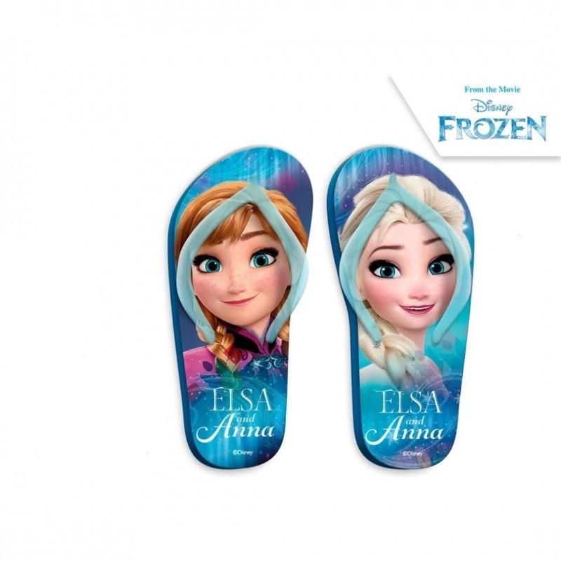 Letní dívčí žabky Ledové Království / Frozen Face velikost 27 - 34 / vecizfilmu