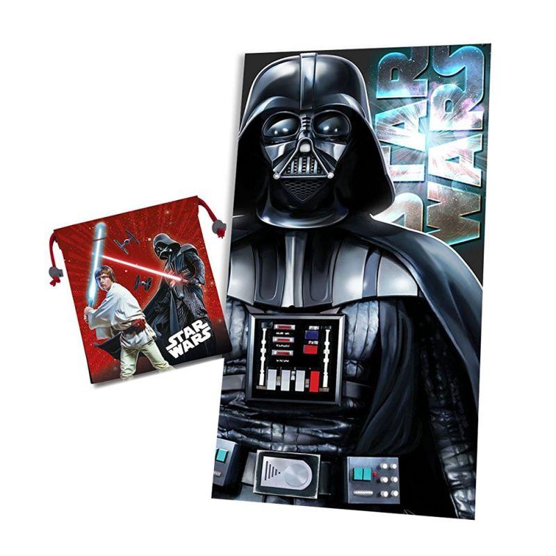 Ručník a pytlík Star Wars Darth Vader 70 x 140 cm a 22 x 24 cm