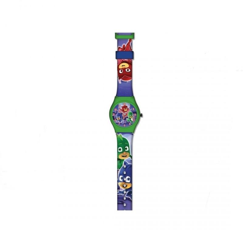 Dětské analogové hodinky PJ Masks Greg / Amaya / Connor / vecizfilmu