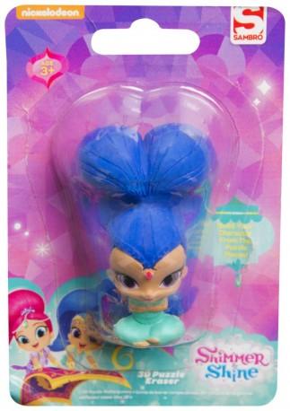 Malá gumová figurka Shimmer and Shine modrá / vecizfilmu