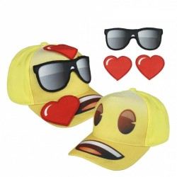 3D kšiltovka Emoji / Smajlíci 55 cm