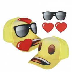 Dětská 3D kšiltovka Emoji / Smajlíci 55 cm