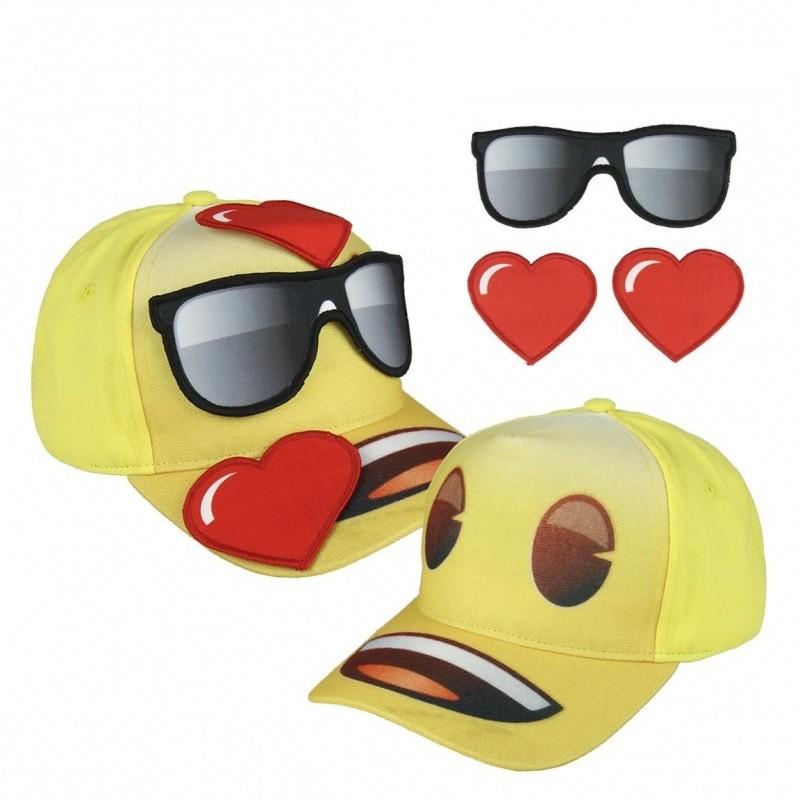 3D kšiltovka Emoji / Smajlíci 55 cm / vecizfilmu