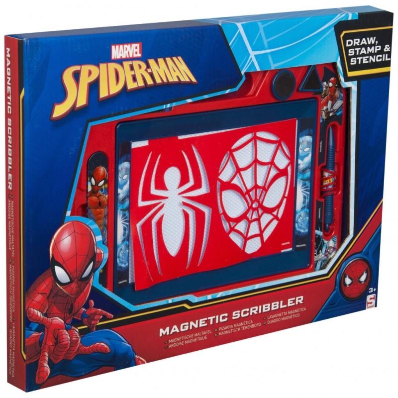 Magneticka Tabulka Na Kresleni Se Sablonou Spiderman 3 20 X 28 X 38 Cm