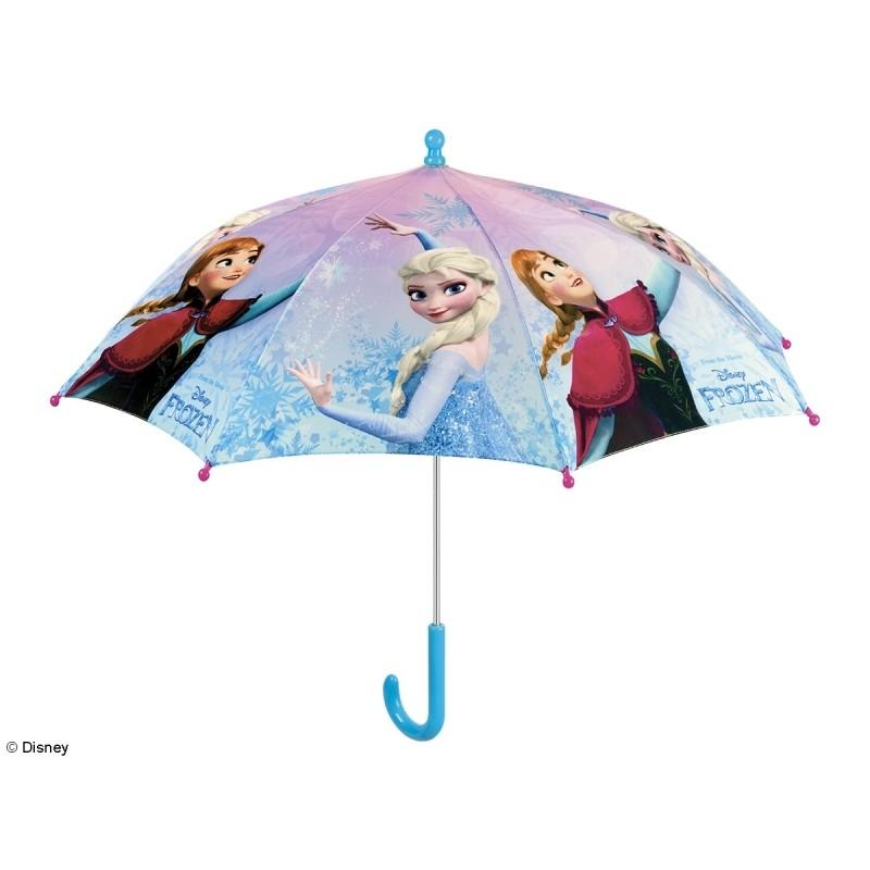 Dívčí manuální deštník Frozen / Ledové království Anna a Elsa