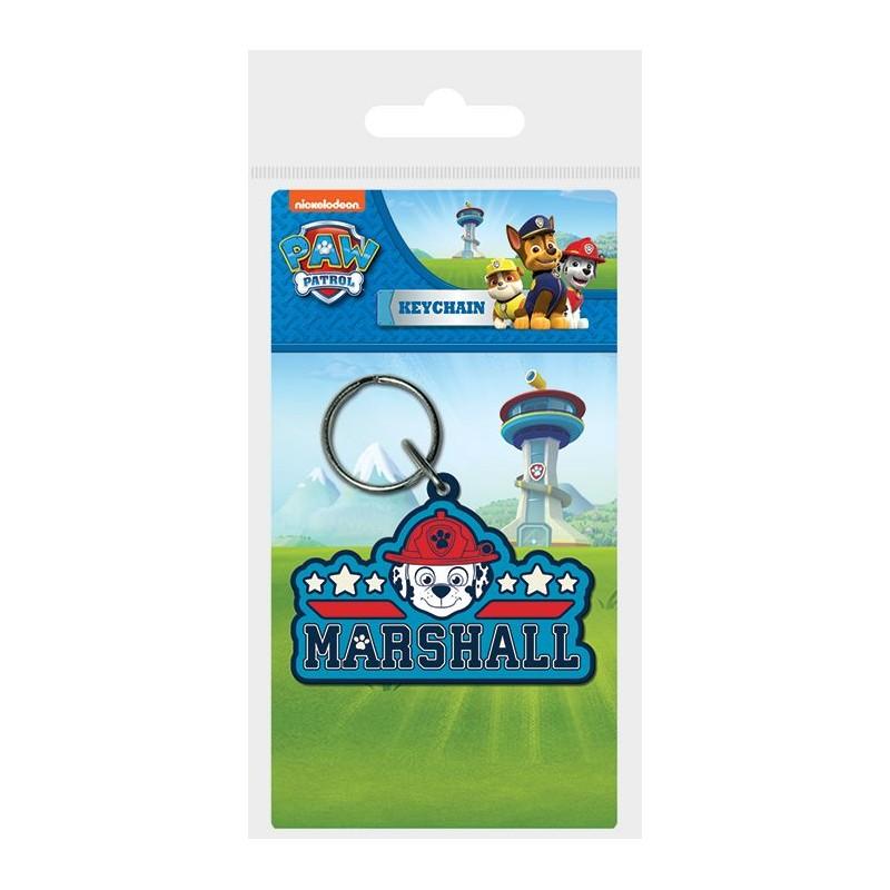 Gumový přívěšek na klíče / batoh Marshall Tlapková Patrola / Paw Patrol