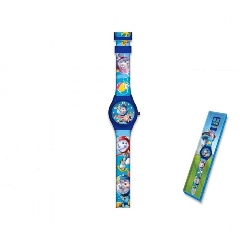Dětské analogové hodinky Paw Patrol / Tlapková Patrola Chase a Marshall