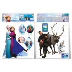 Samolepka na zeď Frozen / Ledové Království 2 archy ( A3 ) / vecizfilmu
