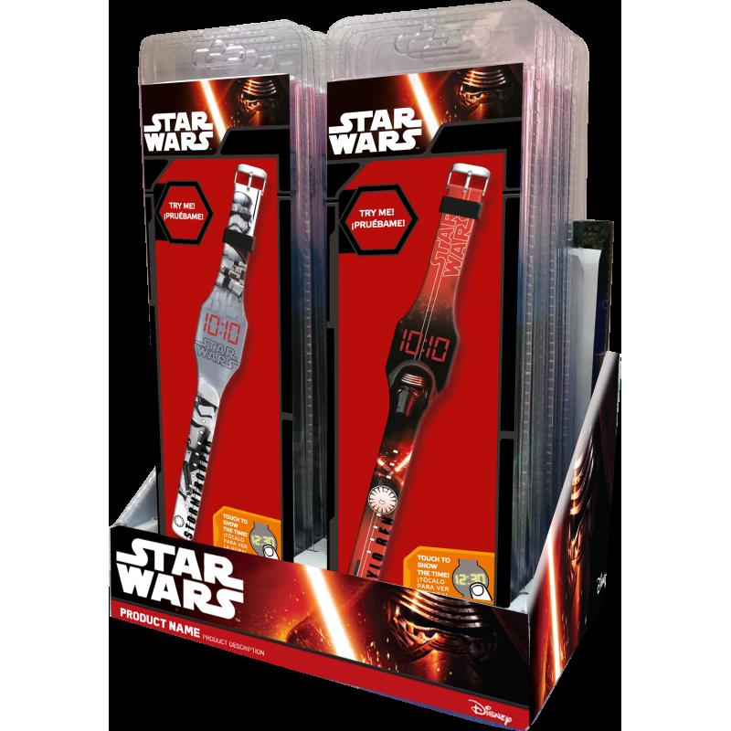 LED digitální hodinky Star Wars Stormtrooper / Darth Vader / vecizfilmu