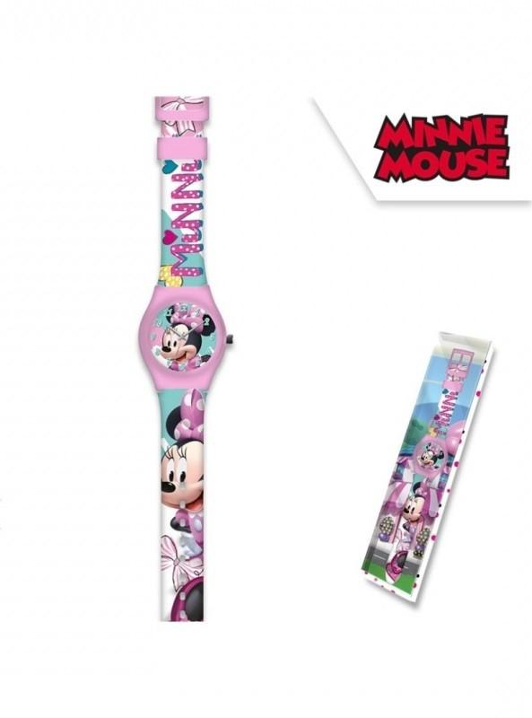 Dívčí analogové hodinky Minnie Mouse