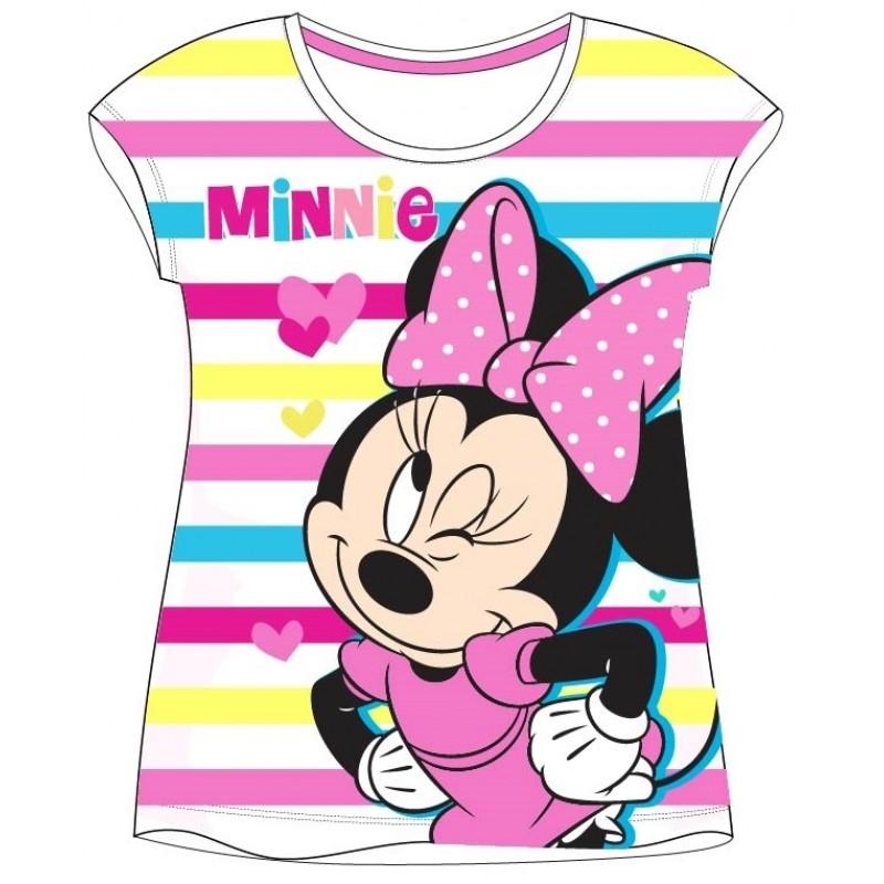 Tričko s krátkým rukávem Minnie Mouse / velikost 104 - 134