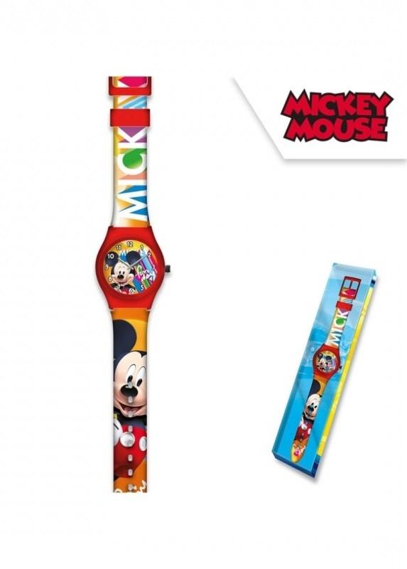 Analogové dětské hodinky Mickey Mouse