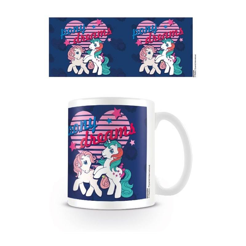 Dívčí keramický hrnek My Little Pony Retro / Pony Dreams 315 ml