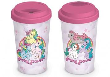 Cestovní hrnek My Little Pony Retro / Pony Power