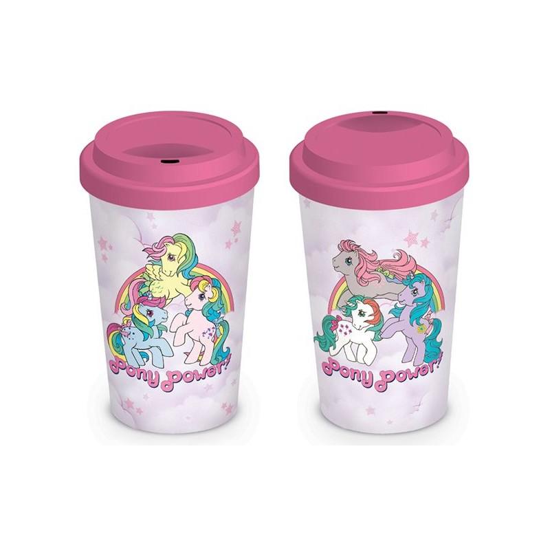 Keramický cestovní hrnek My Little Pony Retro / Pony Power 315 ml