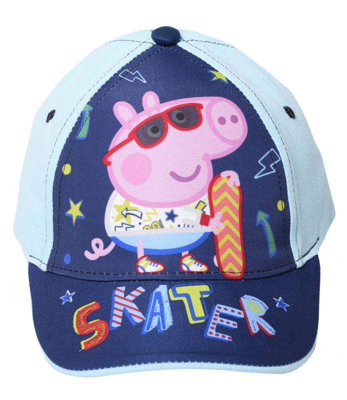 Chlapecká letní kšiltovka Prasátko Peppa / Peppa Pig Skater 50 / 52 cm