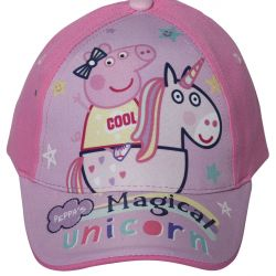 Dívčí letní kšiltovka Prasátko Peppa / Peppa Pig Magical Unicorn 50 / 52 cm / vecizfilmu