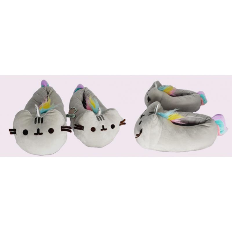 Papuče / Domácí obuv /Pusheen™/  Unicorn / vel: 36 - 38 / veci z filmu