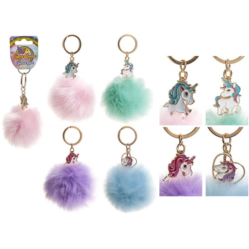 Dívčí přívěšek na klíče / batoh Jednorožec / Unicorn 8 cm / vecizfilmu
