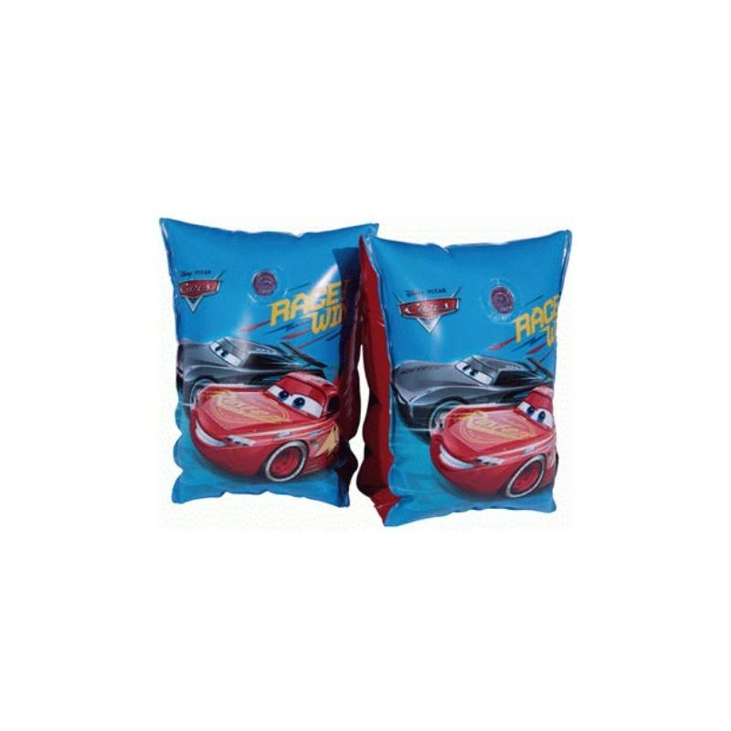 Nafukovací rukávky Cars / modré / 24,5 x 14,5 cm