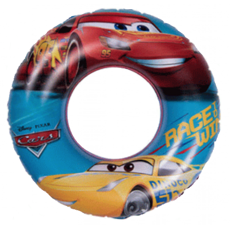 Nafukovací kruh CARS / AUTA / 51 cm