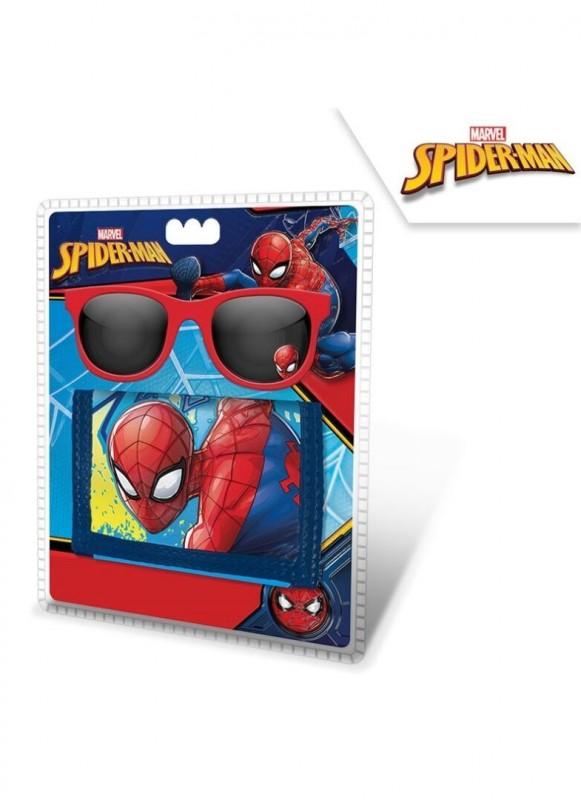 Set peněženka a sluneční brýle Spiderman / veci z filmu