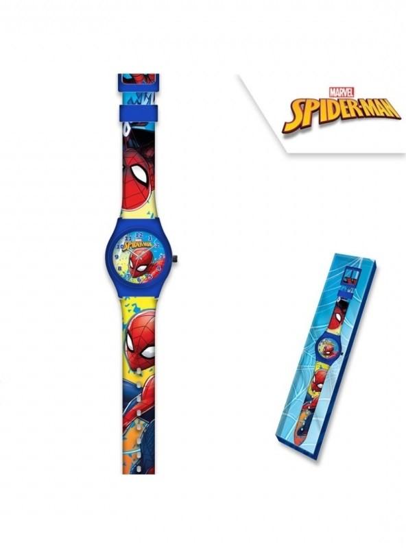 Analogové hodinky v dárkové krabičce Spiderman / veci z filmu