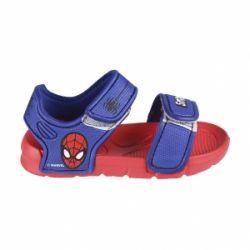 Sandálky na suchý zip s Pavoučím mužem Spidermanem / vecizfilmu