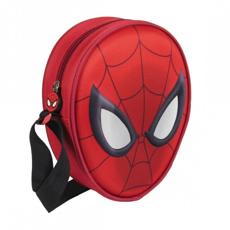 3D příruční taštička s Pavoučím mužem Spidermanem 14 x 18 x 6 cm