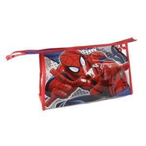 Kosmetická taštička Spiderman ručníček / hřeben / kelímek / obal na zubní kartáček