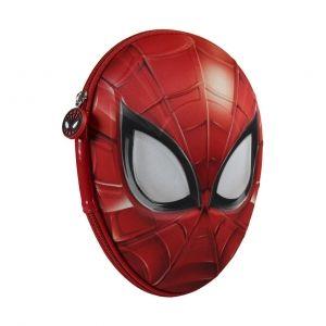 3D vybavené školní pouzdro / penál s Pavoučím mužem Spidermanem 13 x 20 x 7 cm