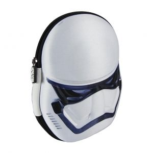 3D vybavené školní pouzdro / penál Star Wars Stormtrooper 13 x 20 x 7 cm