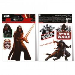 Samolepka na zeď Star Wars / Darth Vader a Stormtrooper 2 archy ( A3 )