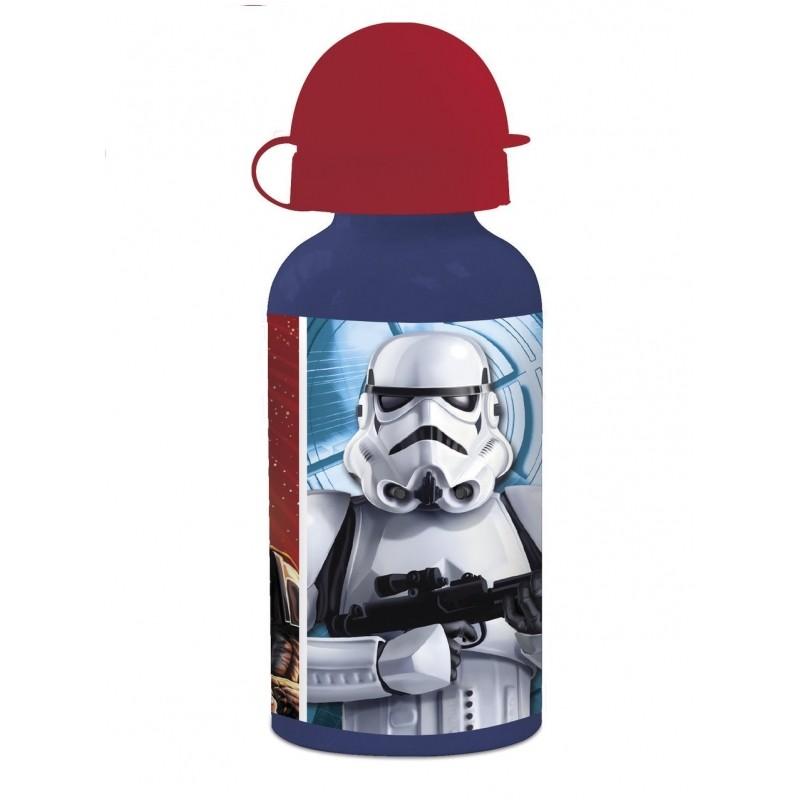 Láhev na pití s krytkou Star Wars / Darth Vader a Stormtrooper 400 ml