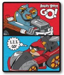 Fleece Deka Angry Birds Go 120/150