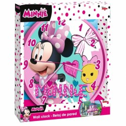 Nástěnné hodiny Minnie Mouse / Myška Minnie 24 cm / veci z filmu