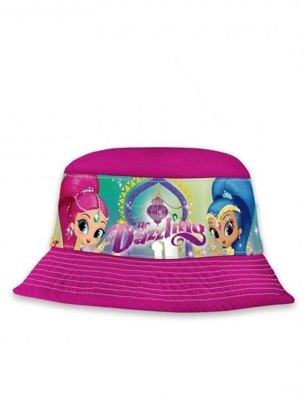 Dívčí letní klobouček růžový Shimmer and Shine velikost 52 cm