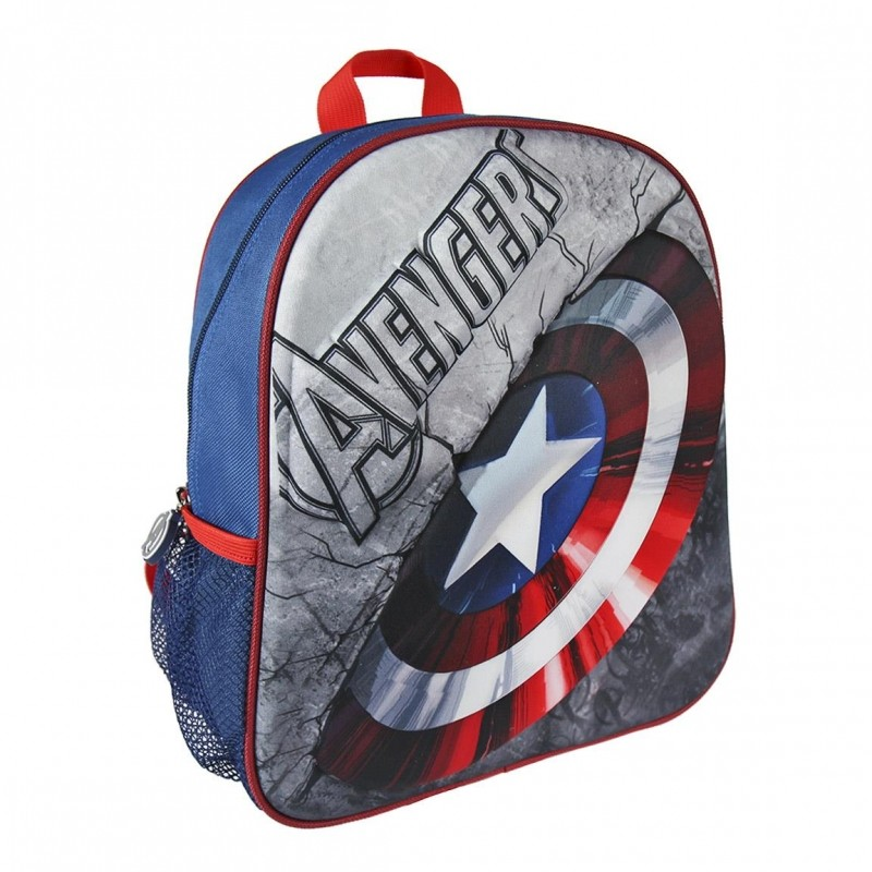 3D chlapecký batoh Avengers / Kapitán Amerika 25 x 31 x 10 cm