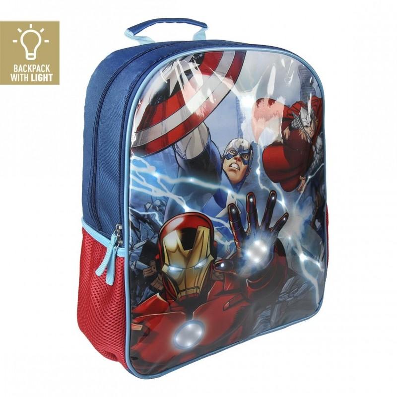 LED batoh Avengers / Kapitán Amerika a Iron Man 30 x 40 x 13 cm