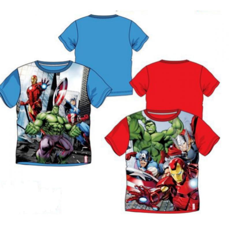 Chlapecké tričko s krátkým rukávem Avengers / Iron Man / Kapitán Amerika / Hulk velikost 104 - 140 cm