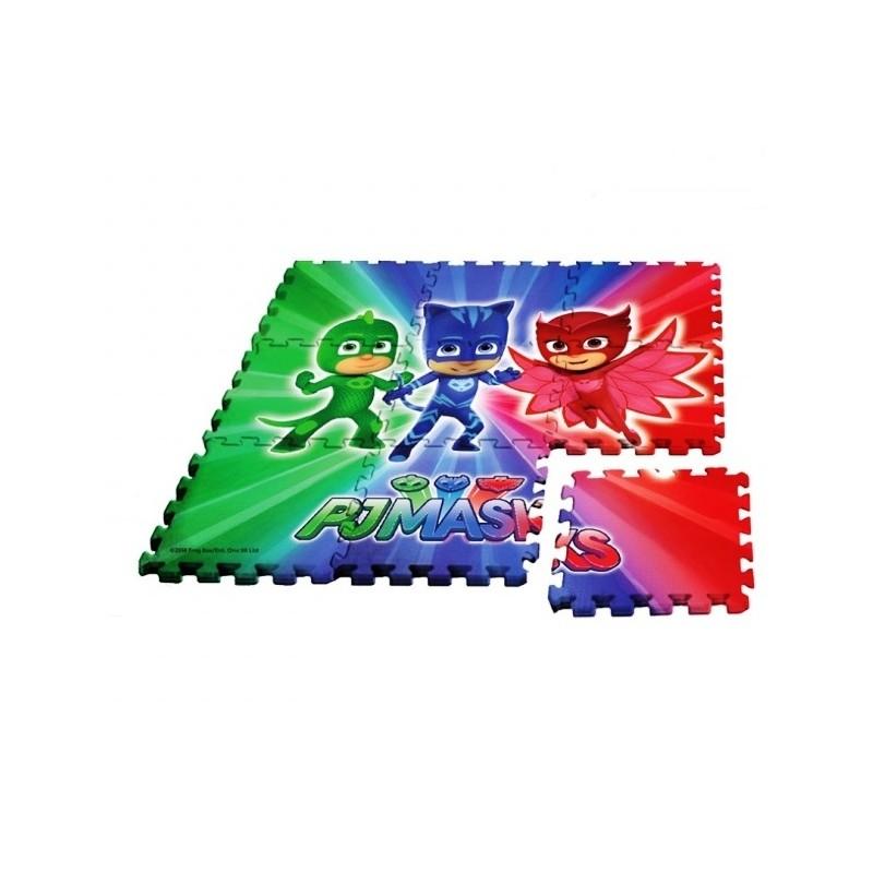 Puzzle na podlahu PJ Masks / Pyžamasky / vecizfilmu