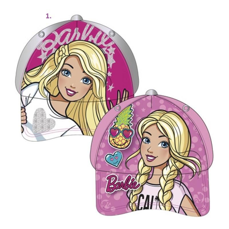 Dívčí letní kšiltovka Barbie velikost 51 / 54 cm