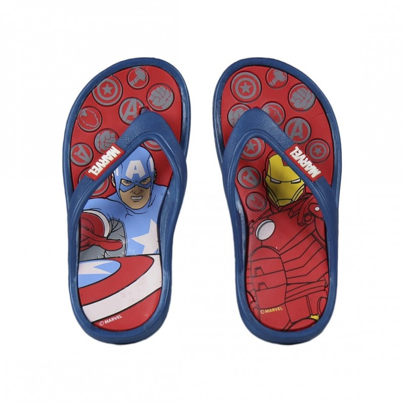 Chlapecké letní žabky Avengers Kapitán Amerika a Iron Man velikost 26 - 33