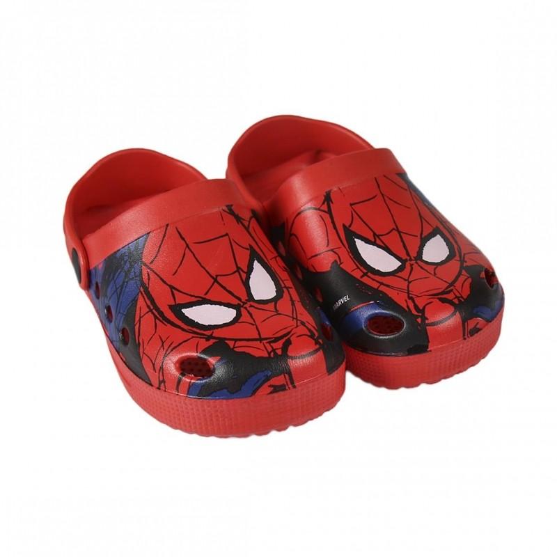 Chlapecké letní kroksy / plážové sandále / Spiderman / velikost: 25 - 31 / veci z filmu