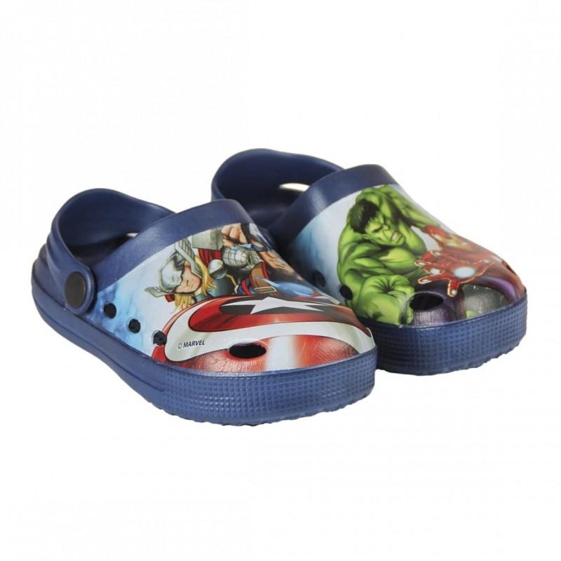 Chlapecké letní kroksy / plážové sandále Avengers Hulk / Iron Man / Kapitán Amerika velikost 26 - 33