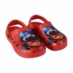 Kroksy / Plážové sandále Miraculous Ladybug / Zázračná beruška / velikost: 26 - 33 / veci z filmu