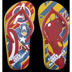 Chlapecké letní žabky Avengers Kapitán Amerika a Iron Man velikost 29 - 36 / vecizfilmu