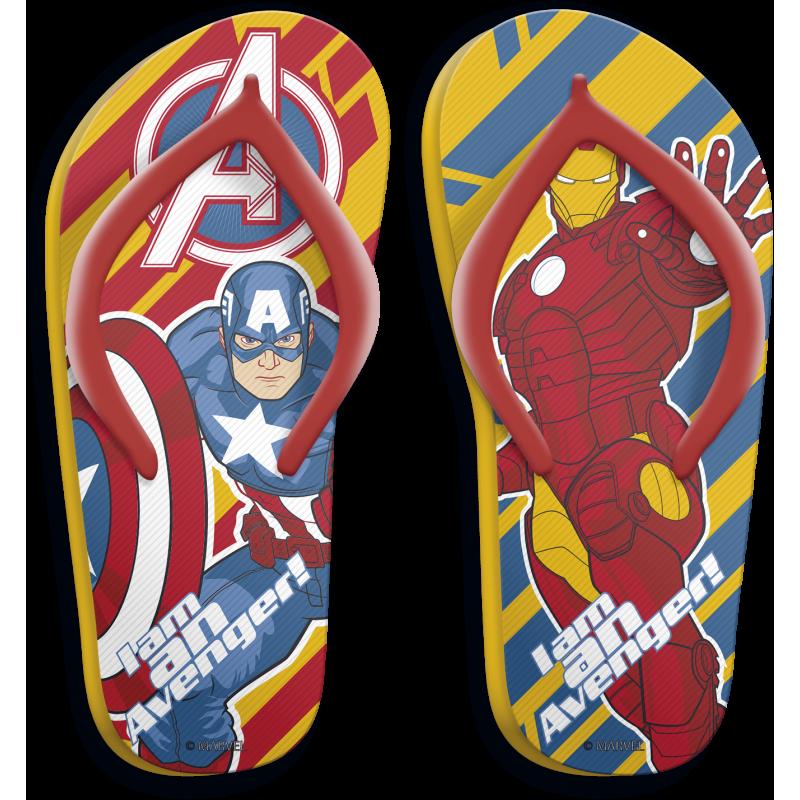 Žabky Avengers Kapitán Amerika / Iron Man / Black Friday